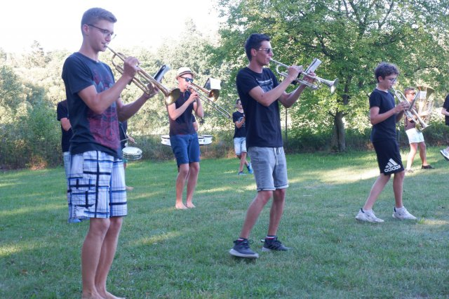 Brass-Flashmob am Badesee